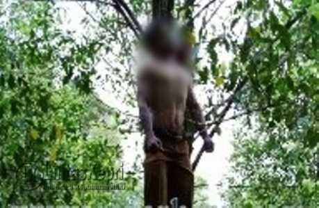 Sekdes Midai Sukarmin mengakhiri hidupnya dengan gantung diri di pohon cengkih