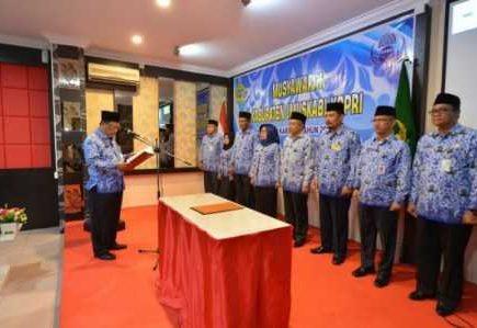 Sekda Kepri Resmi Buka Muskab Korpri Kabupaten Karimun