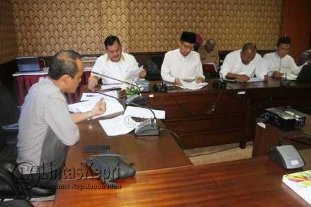 Pansus Rumuskan Tata Cara Pemilihan Wagub Kepri.