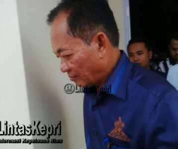 Asep Nana Suryana Resmi di Tahan Kejari Tanjungpinang