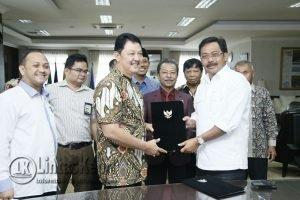 kesepakatan kerja (Mou) antara Pemprov Kepri, PLN Wilayah Riau-Kepulauan Riau dan DPRD Kepri.