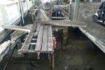 Ambruk Dua Tahun, Jembatan Pelantar Asam di Tanjungpinang Belum Diperbaiki