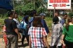 Nyaris Bentrok, Pemilik Tanah Sengketa Menuntut Keadilan