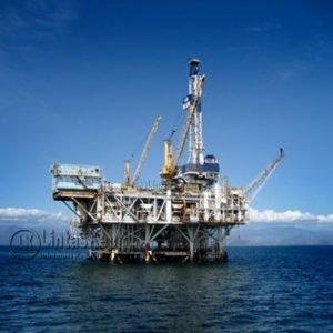 Salah satu lokasi pengeboran minyak dilaut Natuna.