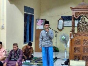 Sambutan Ketua DPRD Natuna, Yusripandi.