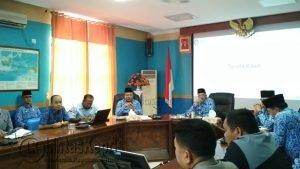 Suasana pertemuan antara Pemda Natuna dengan PT. SSU.