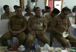 Beberapa pimpinan OPD yang hadir.
