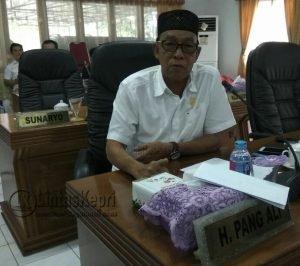 H. Pang Ali, anggota DPRD Natuna dari fraksi PPP.
