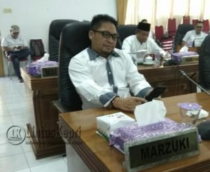 Marzuki, anggota DPRD Natuna dari fraksi Gerindra.