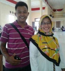 Dari kanan, Wabup Natuna Dra. Hj. Ngesti Yuni Suprapti, MA.