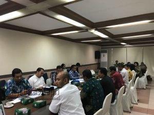 Rapat Penilaian DELH oleh Kementerian Lingkungan Hidup dan Kehutanan di Jakarta.