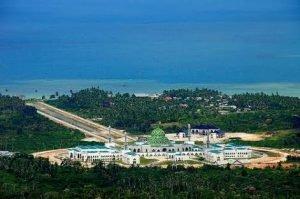 Salah satu sudut Kota Ranai, Ibu Kota Kabupaten Natuna.
