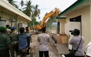 Salah satu asset bangunan milik Sacofa di Natuna, yang akan dibeli dan dimanfaatkan oleh PT. SSU Indonesia.