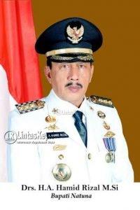 Bupati Natuna Drs. H. Abdul Hamid Rizal, M.Si.