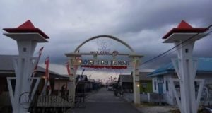Kota Penagi, yang akan disulap menjadi Kampung Pelangi.