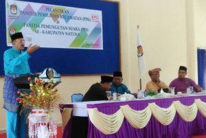 Sambutan Bupati Natuna, Abdul Hamid Rizal.
