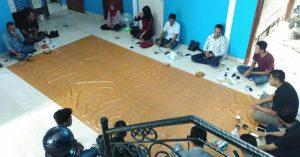 Pertemuan antara Ketua DPRD dengan mahasiswa Natuna di Jakarta.