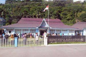 Kantor Bupati Kepulauan Anambas.