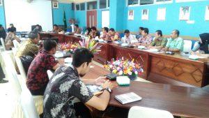 Presentasi dan Diskusi antara PT. Infokom Elektro (MNC Group) dengan Pemkab Natuna.