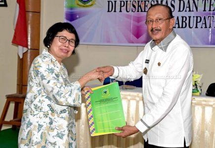 Buka Forum Germas, Hamid Rizal Minta PHBS Terus Diterapkan