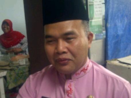 Kepala Disnaker Tanjungpinang, Marzul Hendri.