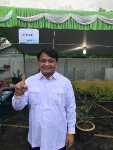 Ketua tim pemenangan Syahrul-Rahma (Sabar), Ade Angga