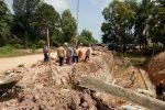 Komisi III DPRD Kepri Tinjau Pembangunan Drainase