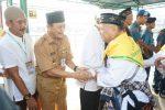 Jamaah Calon Haji Tanjungpinang Kloter Pertama Masuk Embarkasi Batam
