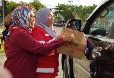 Ngesti Pimpin PMI Galang Dana untuk Korban Gempa di Sulteng
