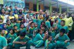 Polres Tanjungpinang Olahraga Gembira Bersama Murid SLB