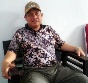 Camat Bunguran Timur, Asmara Juana Suhardi alias Pak Hai.