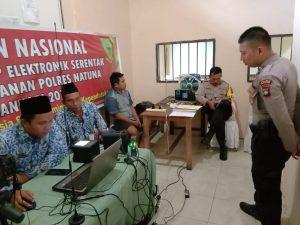 Disdukcapil Natuna laksanakan Gerakan Nasional Jemput Bola Serentak KTP-el di Rutan Polres Natuna.