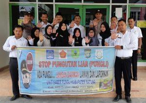 Disdukcapil dan Polres Natuna deklarasi berantas Pungli.