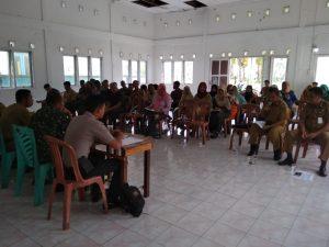 Suasana Musrenbang Desa Tanjungpala, Kecamatan Pulau Laut.
