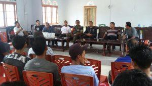 Rapat POKDARWIS Mekar Jaya bersama Disparbud Natuna, untuk membahas rencana pengembangan wisata hutan mangrove.