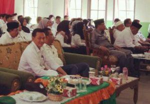 Tampak Eri Marka, Henry FN, Jarmin Sidik dan Wan Sofian, duduk bersama para tamu undangan.