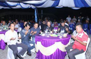 Para tamu undangan yang hadir dalam malam penutupan Peringatan HPN ke 73 di Natuna.