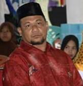 Wakil Ketua I DPRD Natuna Hadi Candra, saat menghadiri acara temu ramah bersama masyarakat Pulau Laut.