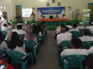 Suasana berlangsungnya Musrenbang tingkat Kecamatan di Bunguran Tengah.