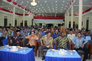 Peserta dan para tamu undangan yang hadir dalam Musrenbang Natuna 2019.