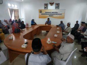 Technical Meeting Kejaksaan Mengaji Jilid II di Aula Kejari Ranai, Natuna.