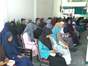 Para calon peserta Kejaksaan Mengaji Jilid II.