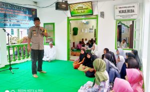 AKBP Nugroho Dwi Karyanto, SIK, saat menyampaikan kata sambutan.