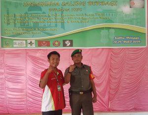 Kopda Zulkarnaini foto bersama Ketua FKPS, Sugianto Utomo.