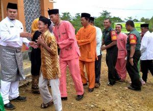 Acara Halal Bihalal di Kecamatan Bunguran Batubi.