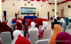 Suasana Pelatihan Kewirausahaan yang digelar oleh BKMT Natuna.