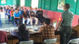 Acara Evaluasi kegiatan Aparatur Desa Binjai.