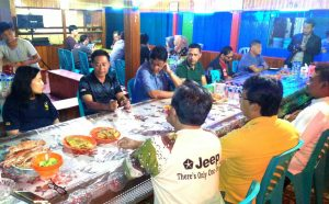 Temu ramah dan makan malam bersama tokoh masyarakat Sedanau.