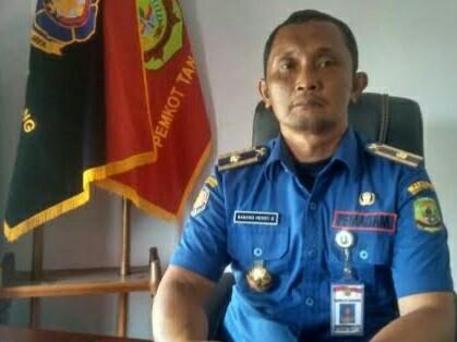Kepala Bidang Penanggulangan Kebakaran Kota Tanjungpinang Nanang Heri Kuswanto.