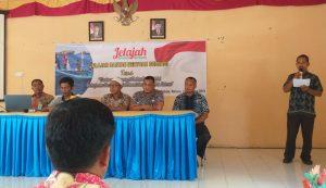 """Pembukaan acara """"Jelajah Berbagi"""" di Desa Batu Gajah, Kecamatan Bunguran Timur, Kabupaten Natuna."""